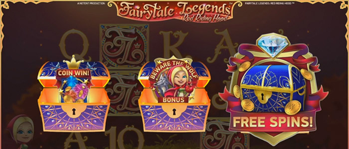 Fairytale Legends bonusspel